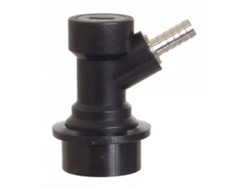 "Conector Ball-Lock para liquido, espigão 1/4"", post mix, líquido"